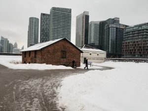 Fort York in March 2018
