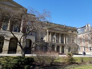 Osgoode Hall in April 2018