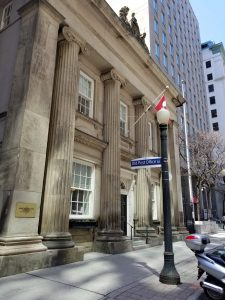 Toronto Street Post Office in May 2018