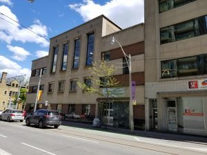 1949 York County Hall at 67 Adelaide East in June 2019. The York County's council chamber moved into the building upon its completion.