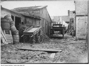 """""""The Ward"""" in 1907. City of Toronto Archives, Fonds 1244, Item 313."""