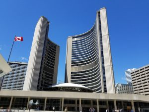 Toronto City Hall in May 2019