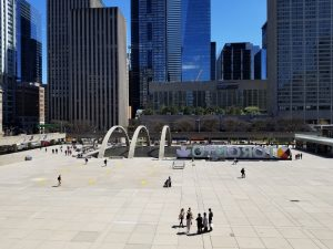 Nathan Phillips Square in May 2019
